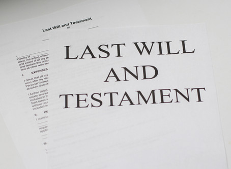 Who inherits property if there is no will?