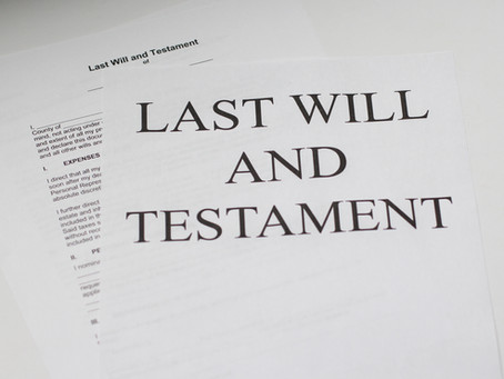 10 Must Know Facts About Wills and Estate Planning