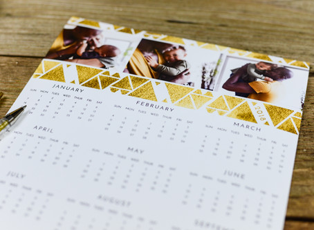 Get 2020 ready with our new calendar range