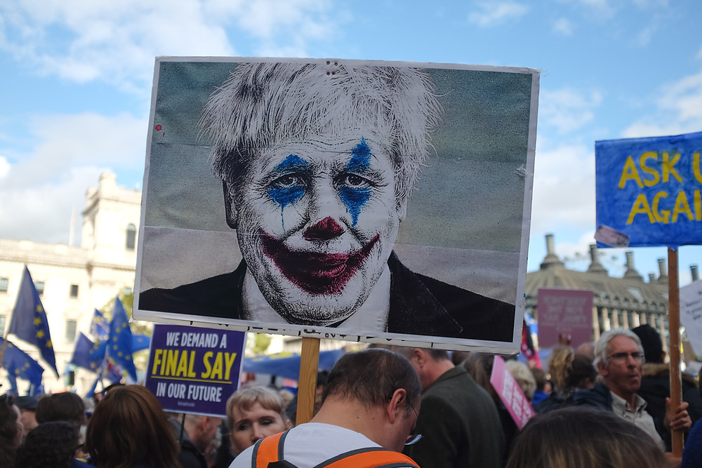 Turns out Boris Johnson isn't a clown after all