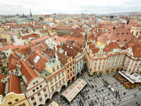 First time in PRAGUE - Day 2 - East side of the River