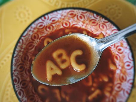 לימוד אנגלית: ABC Matching Exercise