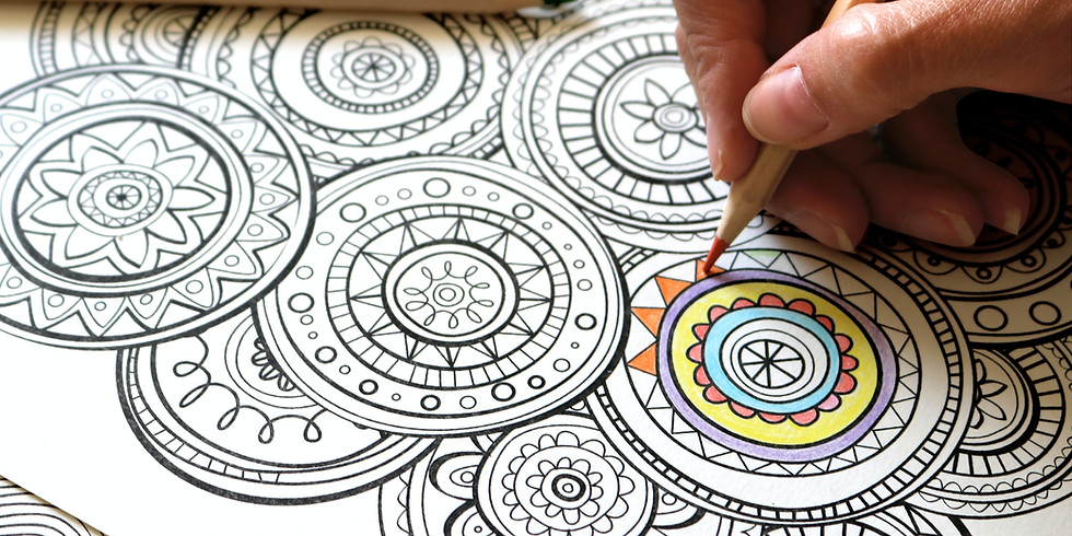 Community Coloring with Caitlin - Meet-Ups
