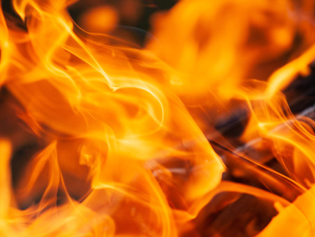 The Consuming Fire of God