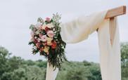 Ceremony Arch with Drape