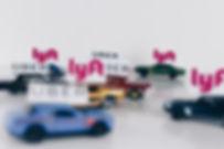 image of Ride-Share cars working in Santa Paula CA.