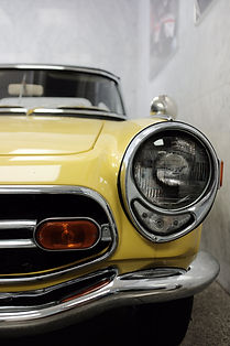 Flawless Finishes yellow car detailing