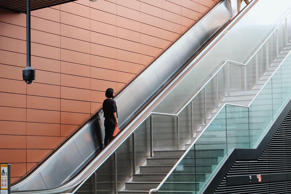 customer churn- running on escalator