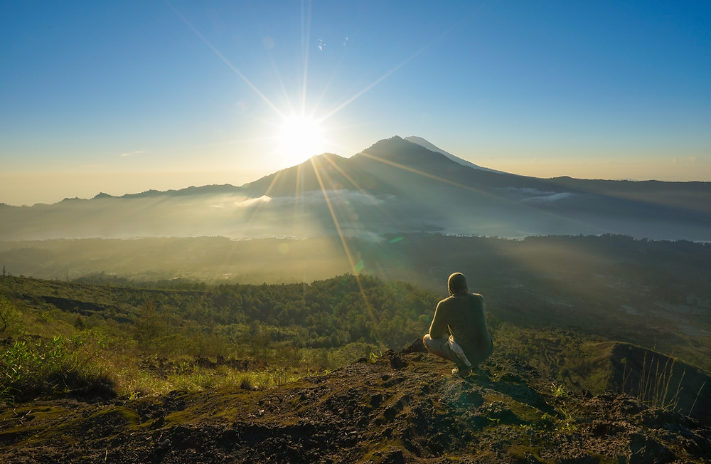 Il vulcano Batur