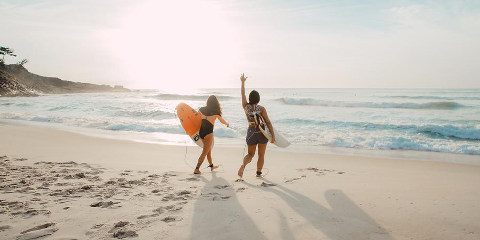 Sunset Surf Lesson