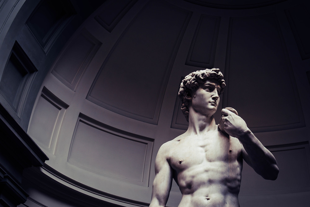 michelangelo-statue-david-photograph