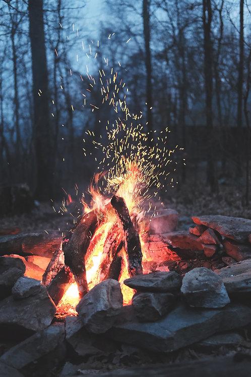 Campfire Gazing