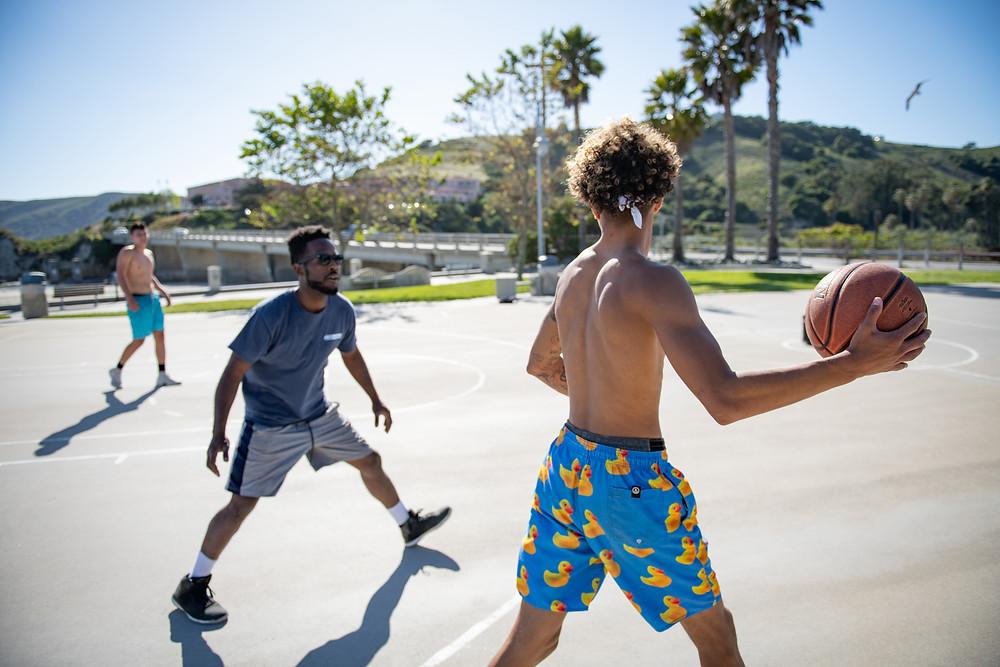BJJ Report Basketball court