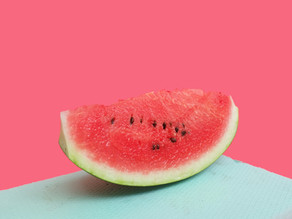 Ich bin ein Salat....Wassermelone mit Minze und Feta