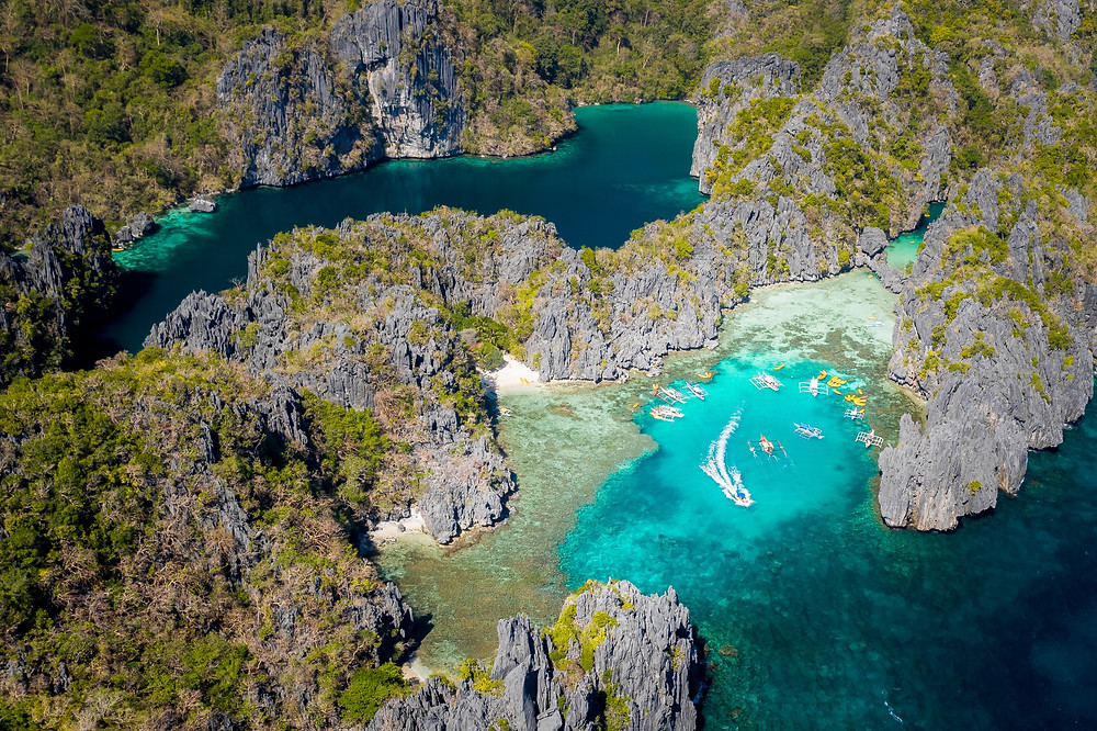 The Bacuit Archipelago, Philippines elopement