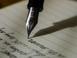 écrire encore et encore