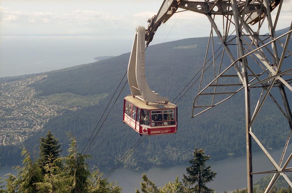 Gôndola de Grouse Mountain, em Vancouver