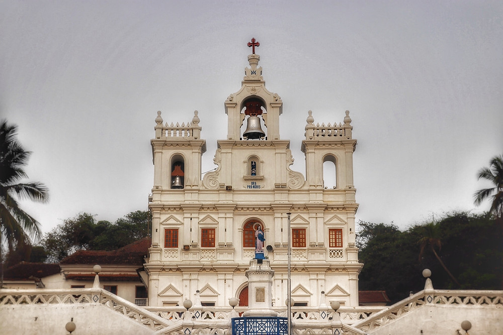 Church in goa | The Endless Roads