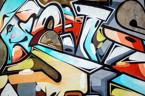 Graffiti Wall-Teens Adults