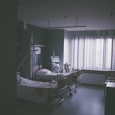 Confiné à l'hôpital