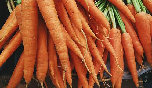 Organic Carrot Bunch