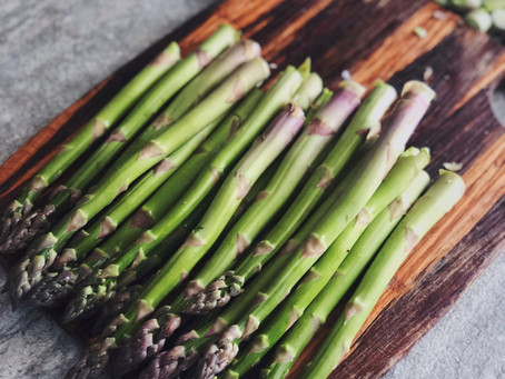 Steamed Asparagus w/Butter Drizzle