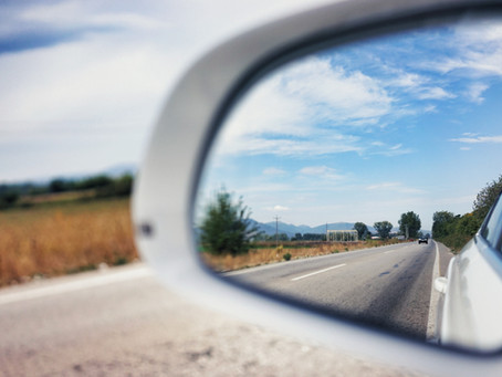 Don't live your life looking in the rearview mirror. Turn that mirror around and live for today.