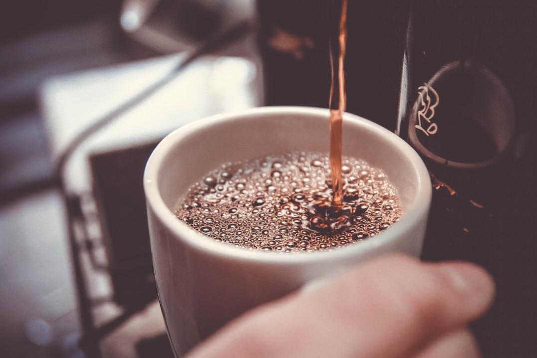 Kaffee gibts auch in der Coworkerei!