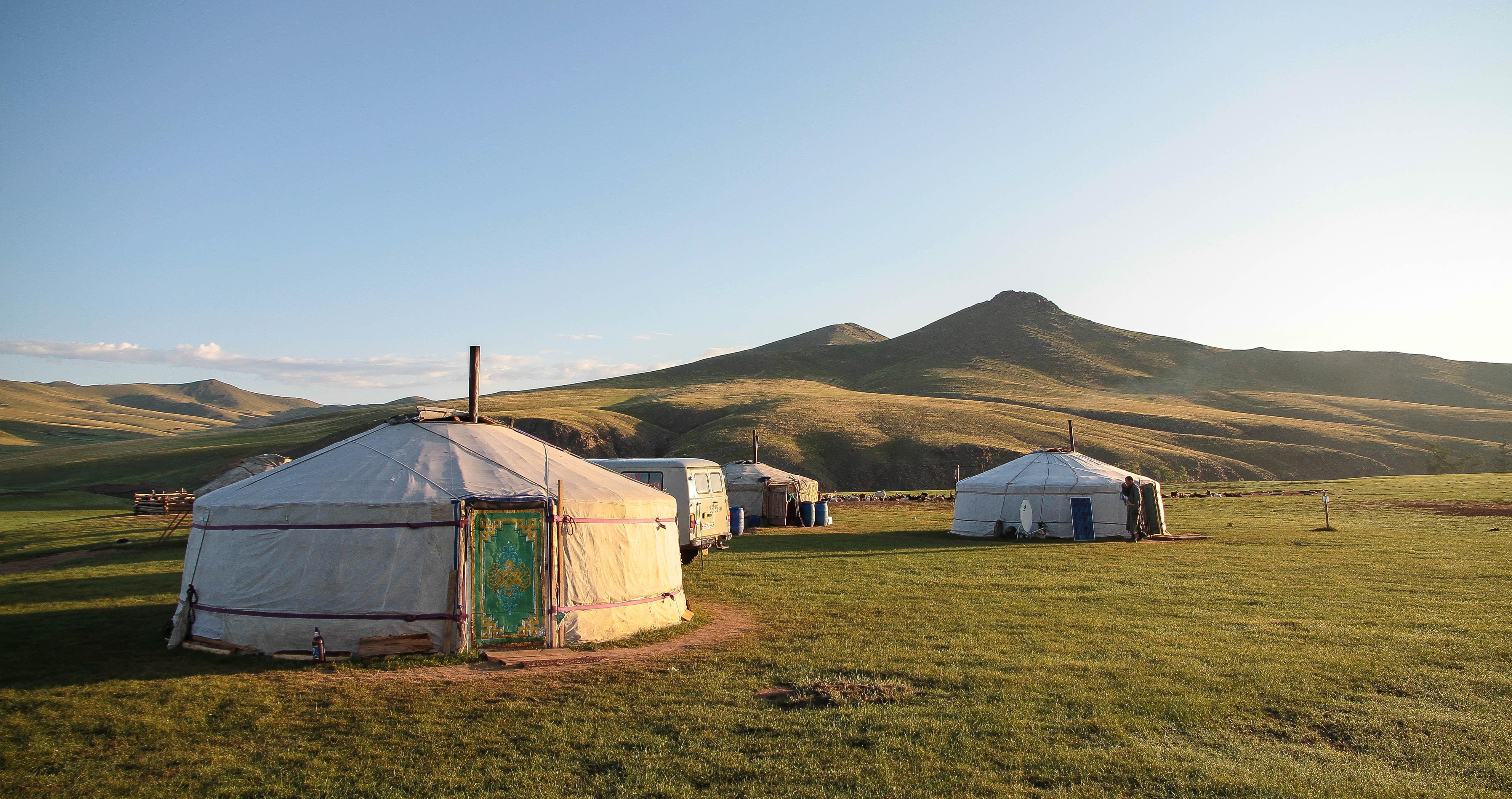 Kazakh Yurta house