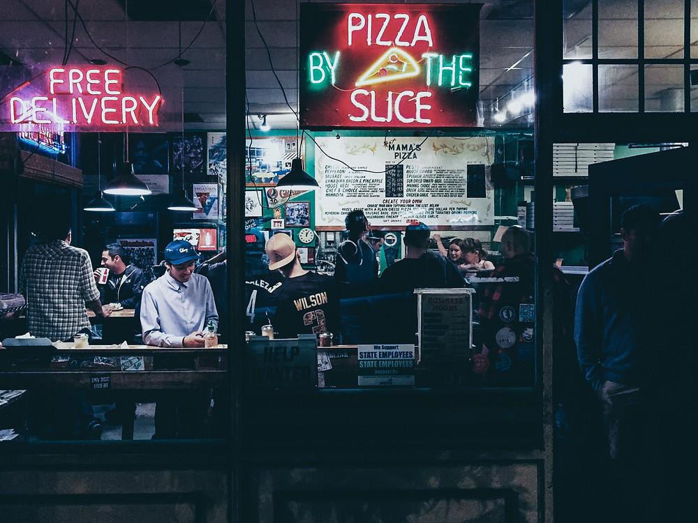 pizza reachur, reachur, local influencers, online marketing, local business online, raleigh