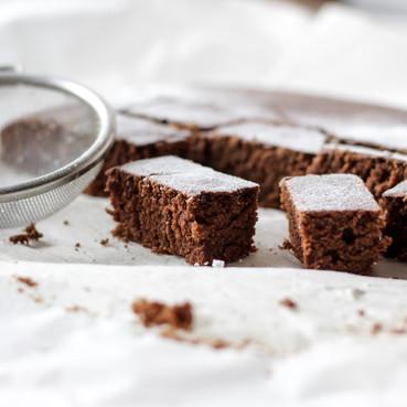 עוגת דבש טבעונית ללא גלוטן