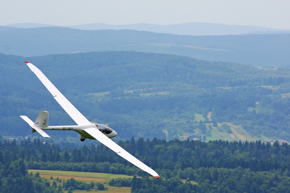 Take a glider ride near your Leesburg rental