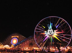 Image by Anand. Paradise Pier, California Adventure, Disneyland Resort