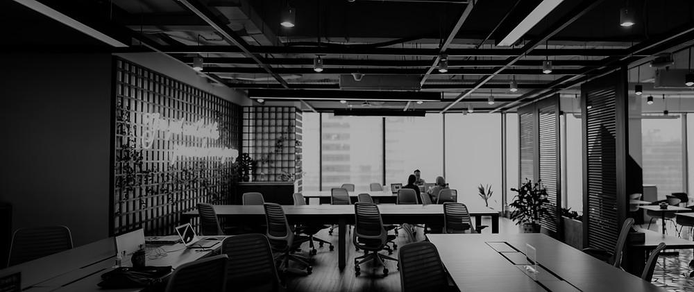 Grey tone office