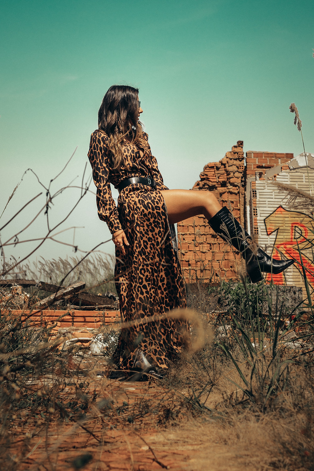 Leopard Print dress and boots, The Image Tree Blog, What's Your Style Personality?