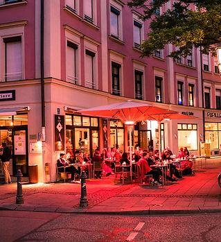 Gärtnerplatz in München in Abendstimmung