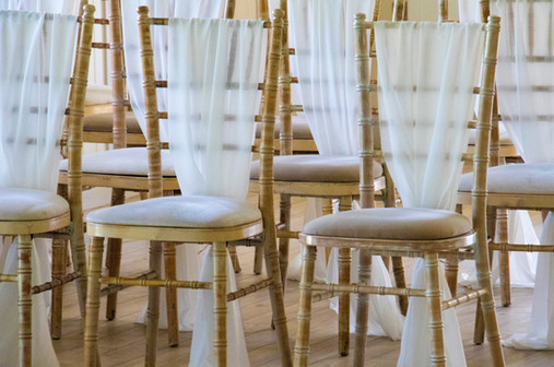 Ceremony Chair Sashes