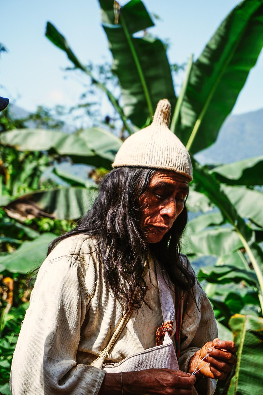 mieszkaniec Amazonii