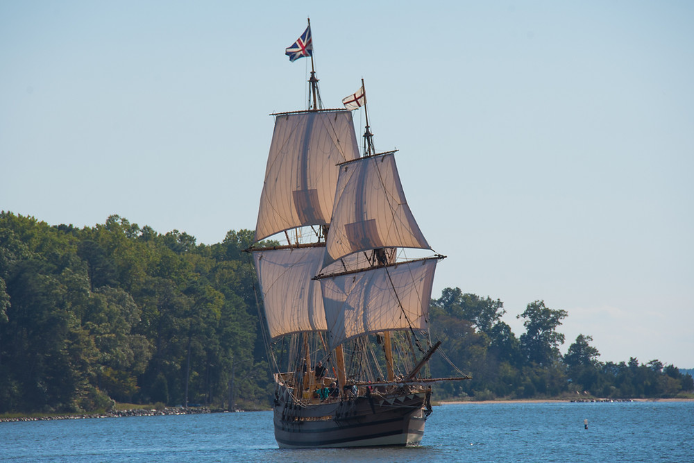 Old sailing ship of East India Company is nothing like Croatian pirate boats