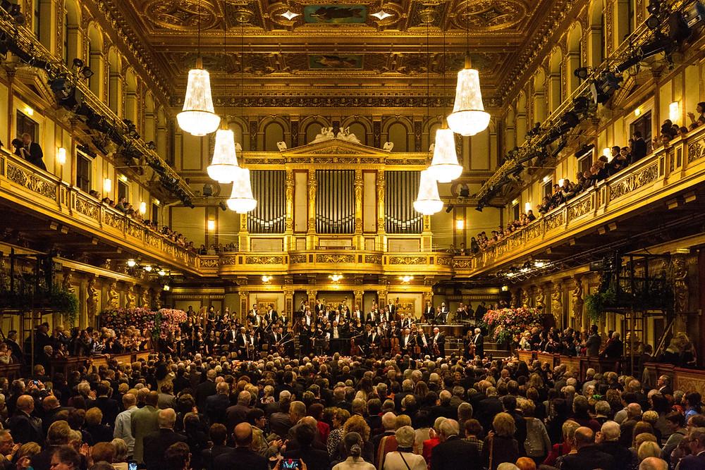 The Golden Hall of the Musikverein Wien, Austria, Photo: Jonthan, Unsplash
