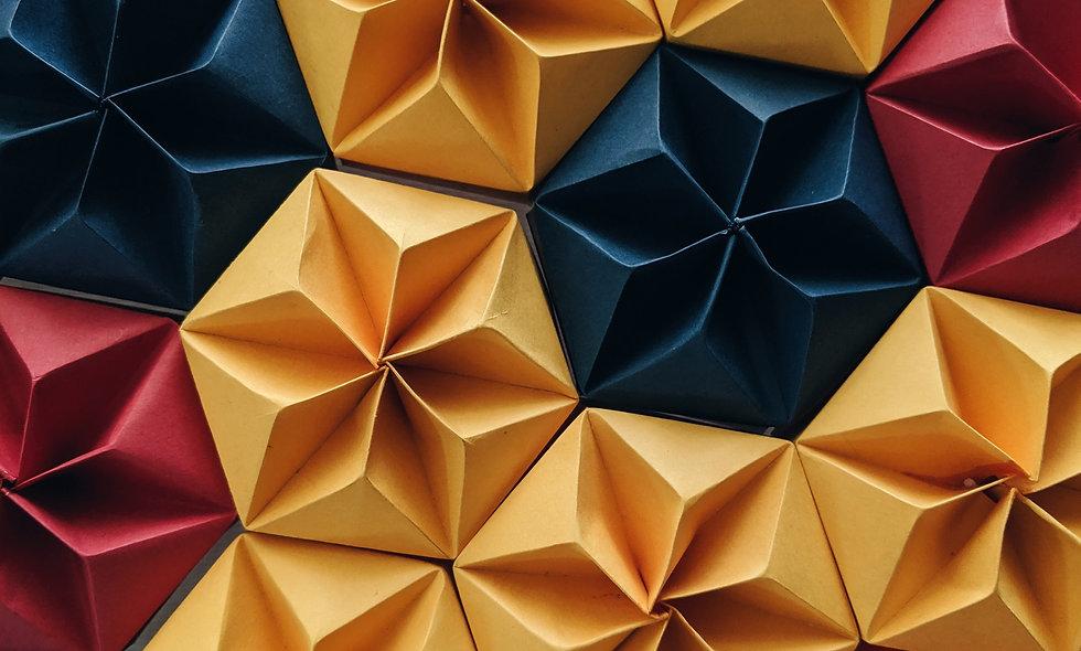 Arte degli origami le prime figure