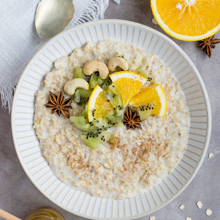 Variations naturo autour du porridge : pour un petit déjeuner douillet