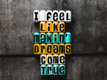 Small steps towards big dreams