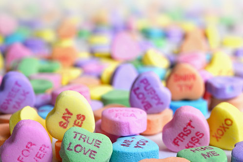 Candy Hearts - Reed Diffuser Refill Oil
