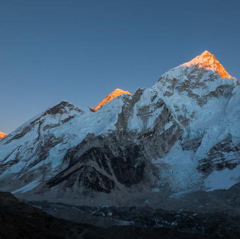Vue sur les Annapurnas