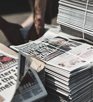 A BALE OF NEWSPAPERS