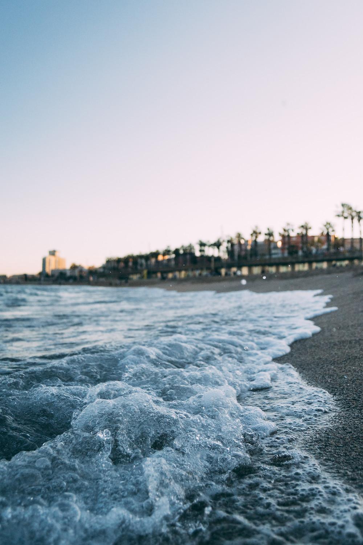 Playa de Barcelona, España.