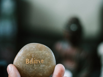 It's Already Yours, You Just Have to Believe