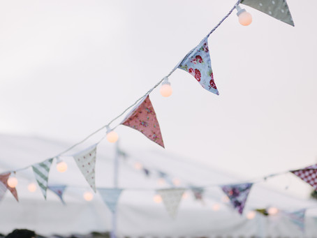 Switch from balloons to bunting