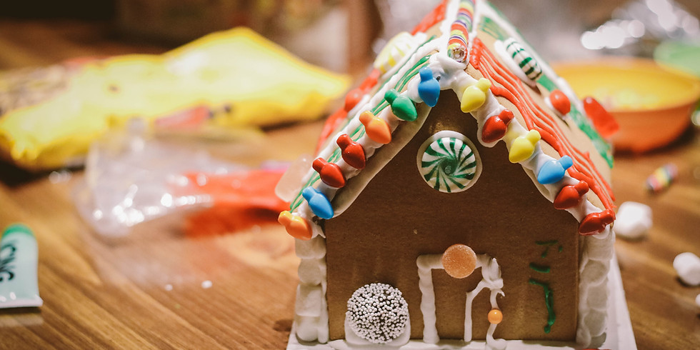 Family Gingerbread House Afternoon
